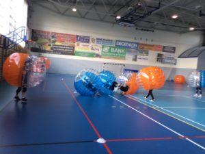 -  Impreza integracyjna w Szczyrku z Bumper Ball Beskidy