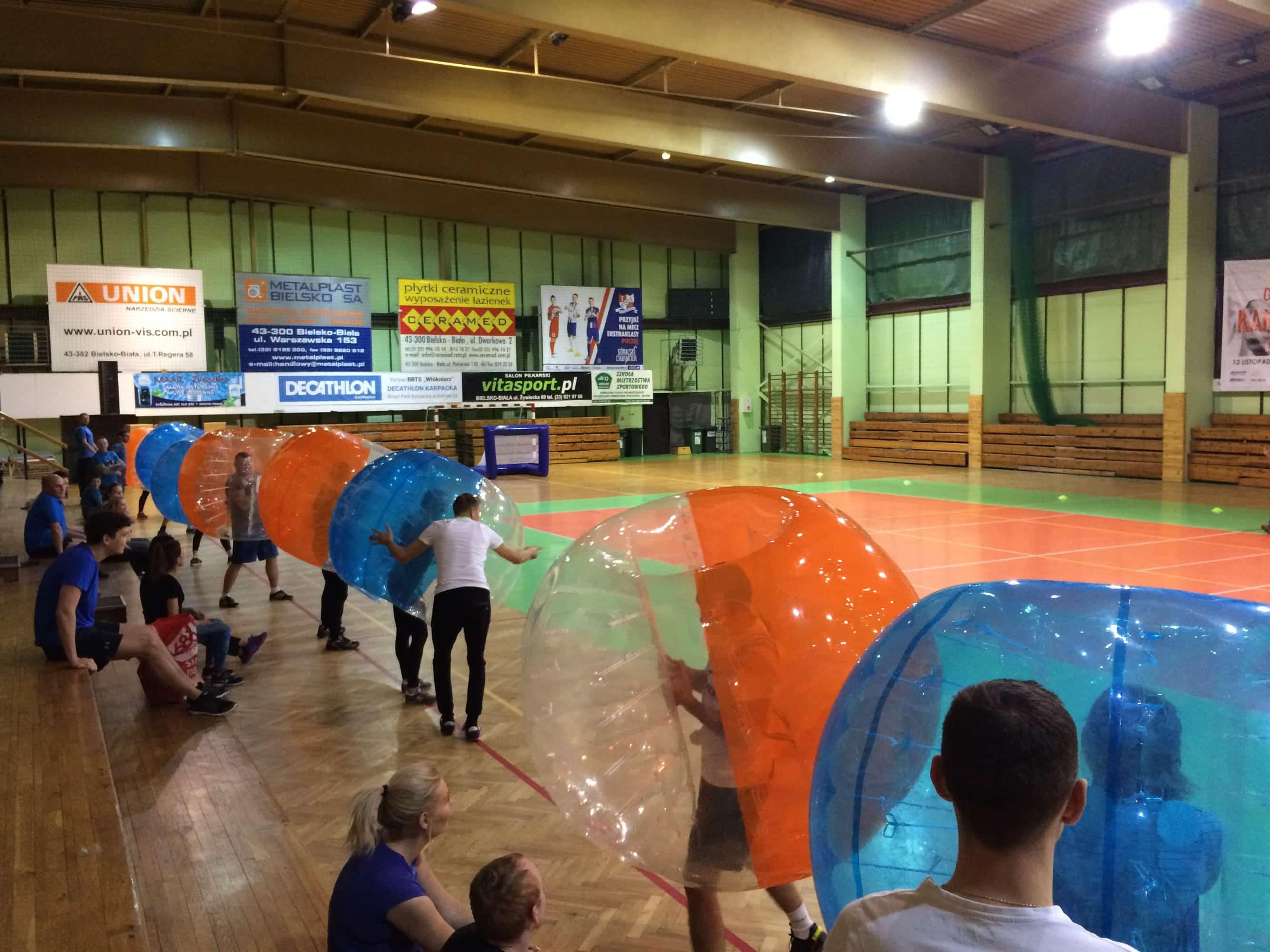 -  Impreza integracyjna z Bumper Ball Beskidy