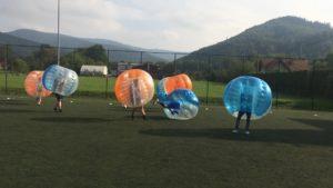 -  Impreza integracyjna z Bumper Ball Beskidy w Jaworzu